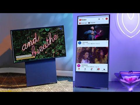 Телевизор Samsung The Sero Умеет переворачиваться вертикально!