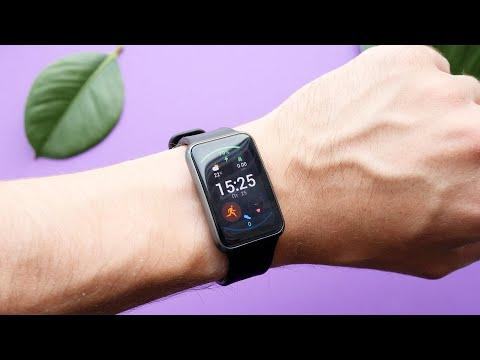 Обзор Huawei Watch Fit: гибрид смарт-часов и фитнес-трекера