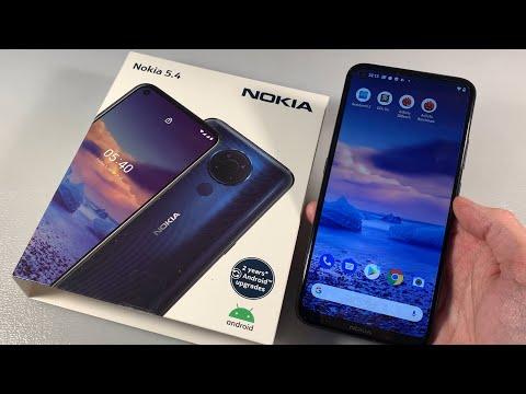 Обзор Nokia 5.4 (TA-1337) 4/64GB
