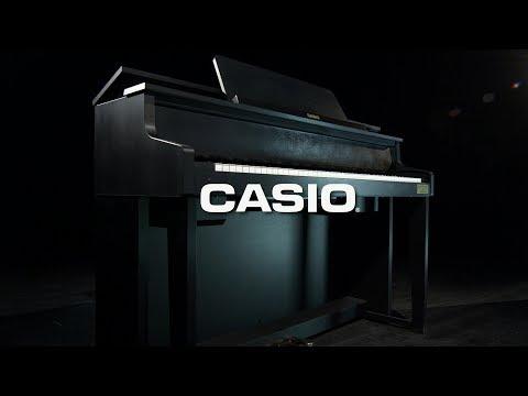 Casio GP300 Grand Hybrid Digital Piano Satin Black   Gear4music demo