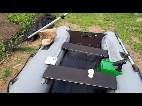 Обзор ПВХ лодки Пилот М320 фирмы Ковчег Уфа