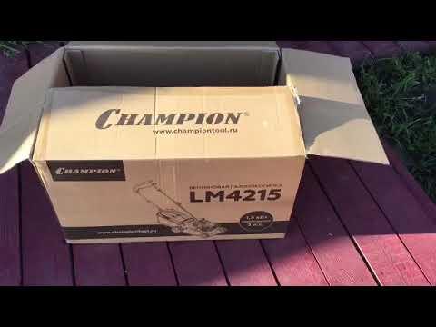 Champion LM 4215 небольшой обзор