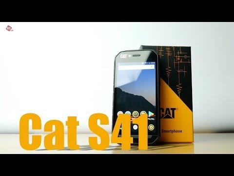 Защищенный смартфон с NFC - Caterpillar Cat S41 (распаковка, комплект, производительность)