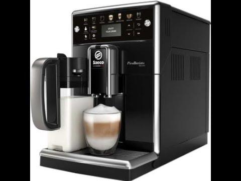 Обзор кофемашины Saeco Pico Barista 5570/10 Deluxe