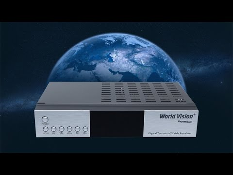 World Vision Premium - подробный обзор ресивера DVB-T2 и DVB-C