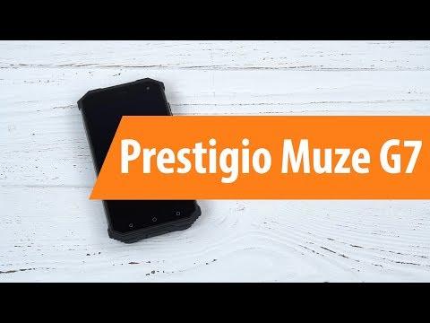 Распаковка смартфона Prestigio Muze G7 / Unboxing Prestigio Muze G7
