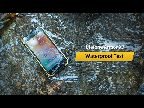 Ulefone Armor X7 Waterproof Test - IP68/IP69K Certified Android 10 Rugged Phone