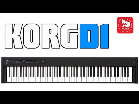 Цифровое пианино KORG D1 (клавиатура RH3 производства Япония)