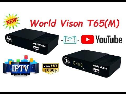 Долгожданный Тюнер (ресивер) Т2 World Vision T65 (T65M) - Честный обзор и настройка