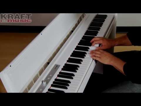Kraft Music - Korg LP-180 Digital Piano Demo with Rich Formidoni