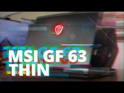ЛУЧШИЙ НЕДОРОГОЙ ИГРОВОЙ НОУТБУК 2021 – MSI GF 63 THIN