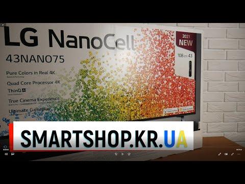 Новый телевизор LG 43NANO756PA - готов подвинуть конкурентов!