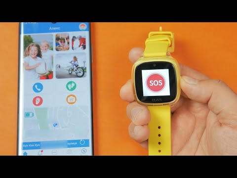 Детские смарт-часы с GPS Elari KidPhone Fresh | Функционал и приложение