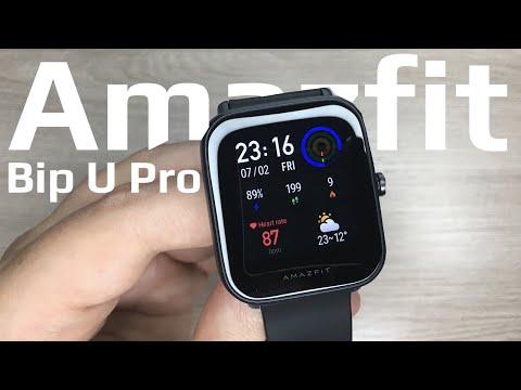 Обзор Amazfit Bip U Pro // Умные часы