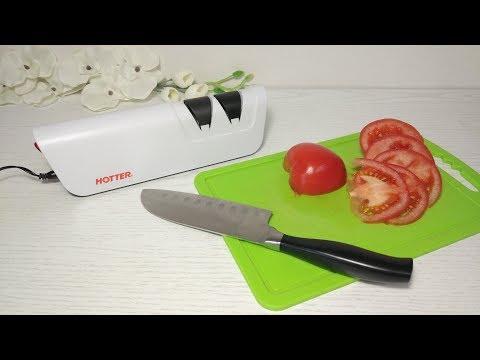 Распаковка Aliexpress. Электрическая точилка для ножей с Алиэкспресс