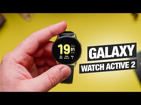 Обзор Samsung Galaxy Watch Active 2 - лучшие смарт часы для Android?
