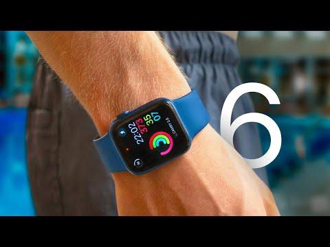 Apple Watch Series 6 в реальной жизни