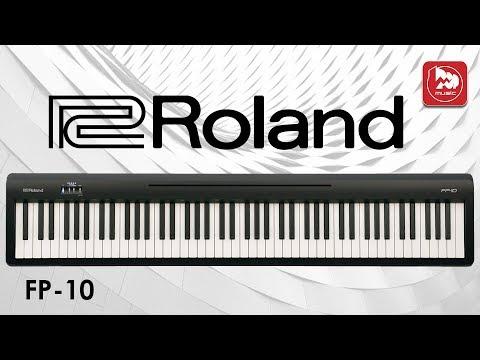 Новое цифровое пианино ROLAND FP-10