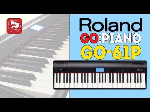 ROLAND GO:PIANO (GO-61P) - доступное электропианино