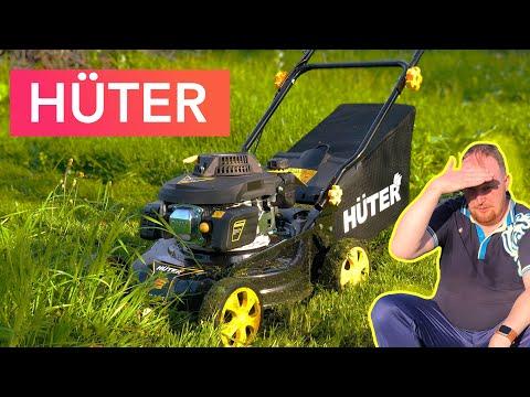 Газонокосилка Huter GLM-3.5T | Мы пахали, я и трактор