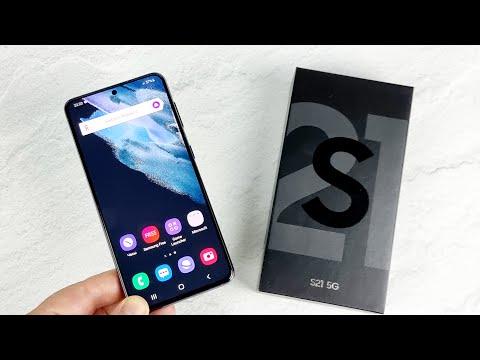 Samsung Galaxy S21 5G: распаковка и первые впечатления!