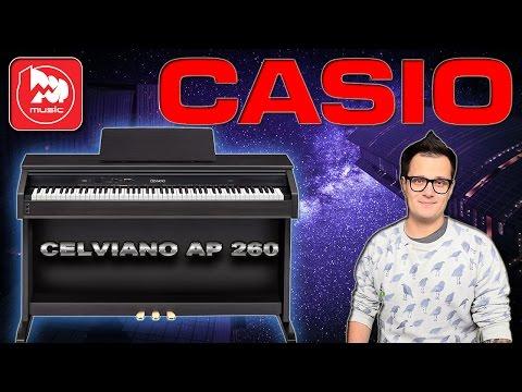 CASIO AP-260 CELVIANO - цифровое пианино в корпусе