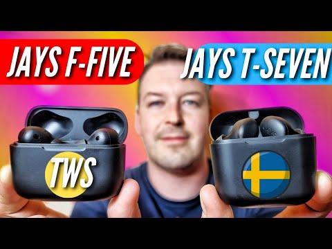 НАУШНИКИ из ШВЕЦИИ. JAYS T-SEVEN & JAYS F-FIVE. Обзор и сравнение