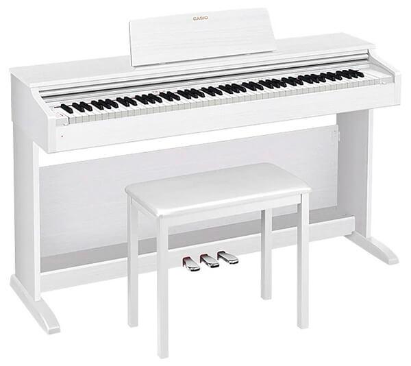 CASIO AP-270 white wood